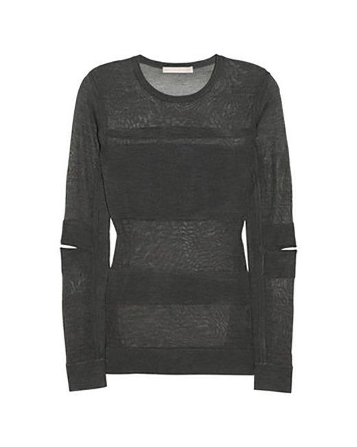 Top, tee-shirt soie gris Jason Wu en coloris Gray