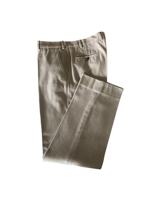 Pantalon droit coton autre Loro Piana pour homme en coloris Multicolor