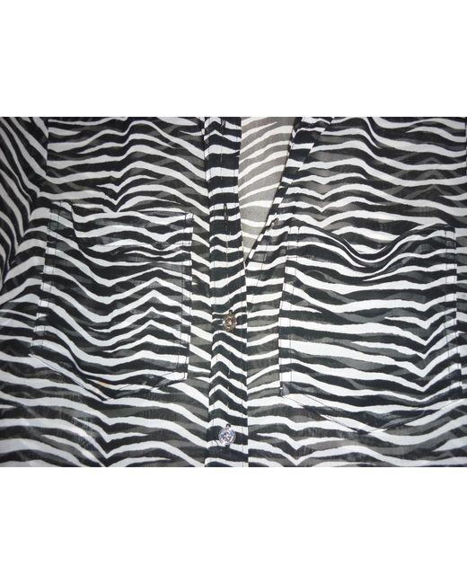 Chemisier polyester noir Michael Kors en coloris Black