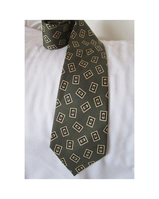 Cravate soie multicolore Balmain pour homme