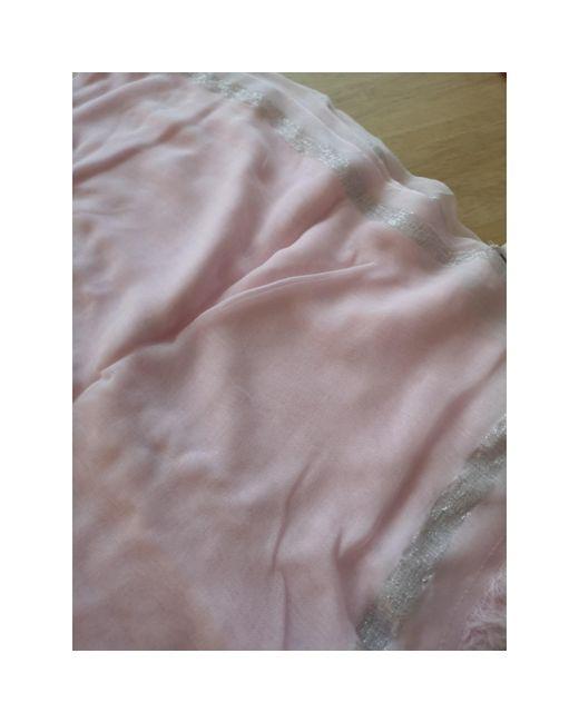 Etole viscose rose Claudie Pierlot en coloris Pink