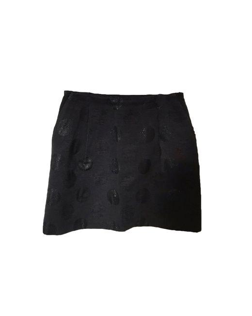 Claudie Pierlot Jupe courte polyamide noir femme bEmjm