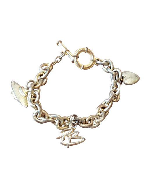 Bracelet plaqué or doré Balmain en coloris Metallic