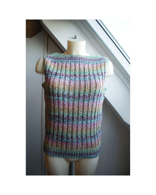 Pull coton multicolore Marc Jacobs