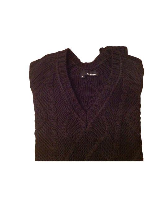 Pull laine noir The Kooples pour homme en coloris Black