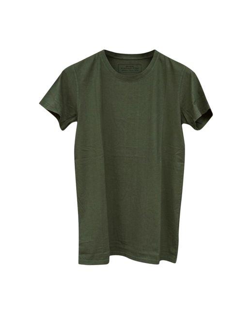 Tee-shirt coton kaki Balmain pour homme en coloris Green