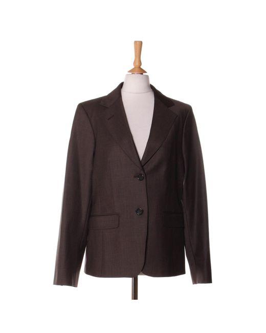 Blazer, veste tailleur laine marron Gerard Darel en coloris Brown