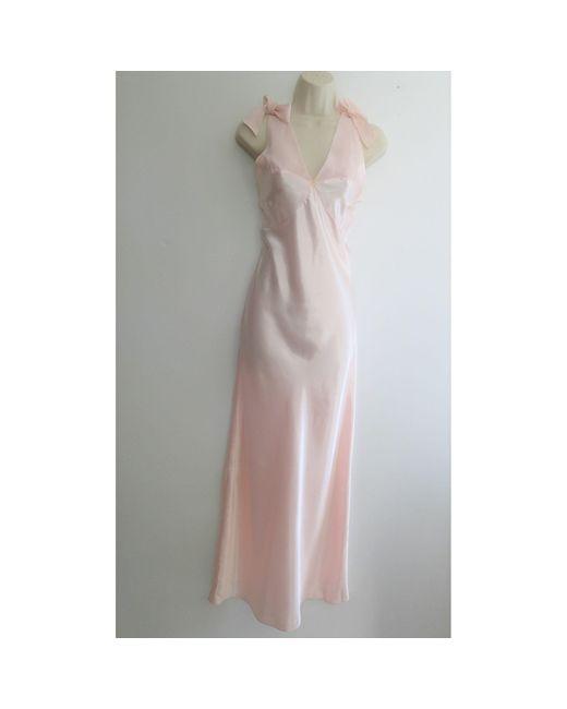 Chemise de nuit polyester rose Givenchy en coloris Pink