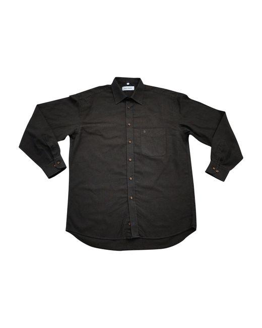 Chemise coton marron Balmain pour homme en coloris Brown