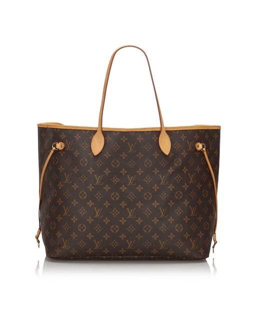 Sac en bandoulière en cuir monogram canvas autre Louis Vuitton en coloris Brown