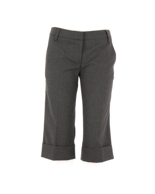 Short laine gris Sandro en coloris Gray