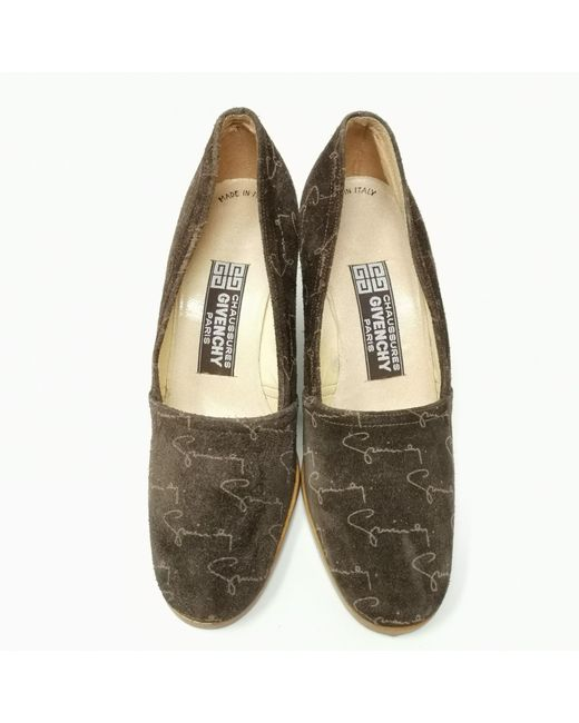 Escarpins compensés daim marron Givenchy en coloris Brown