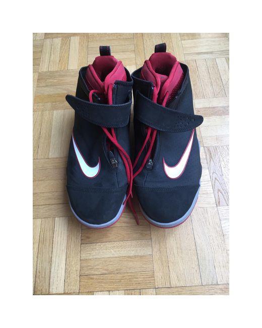 Baskets toile rouge Nike pour homme en coloris Red