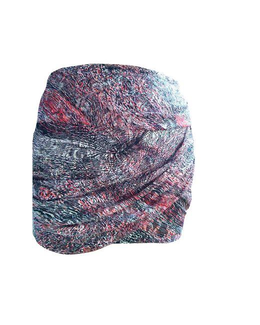 Jupe courte polyamide multicolore IRO