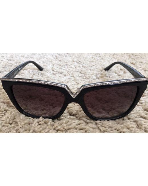 Lunettes de soleil noir Valentino Garavani en coloris Black