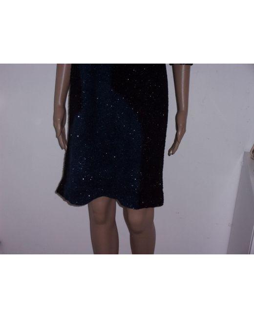 Robe mi-longue nylon multicolore Sonia Rykiel en coloris Blue