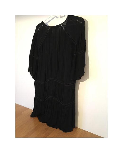 Robe courte viscose noir IRO en coloris Black