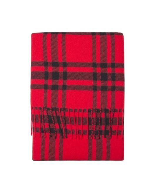 Echarpe laine rouge The Kooples en coloris Red