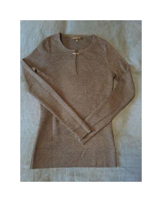 Pull pure laine vierge gris Barbara Bui en coloris Gray