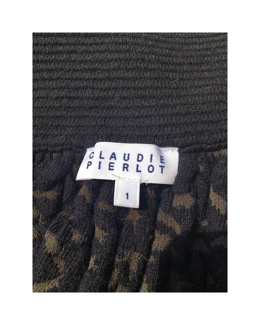 Jupe courte coton autre Claudie Pierlot en coloris Multicolor