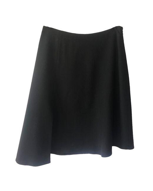 JOSEPH Jupe courte laine mélangée noir femme dLbrZ