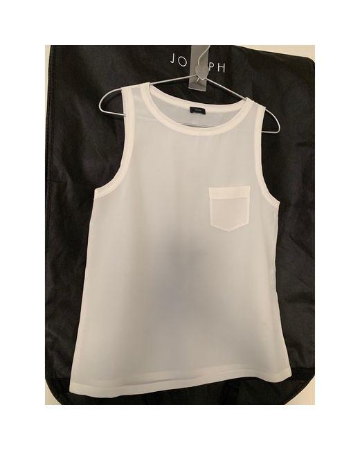 Top, tee-shirt soie blanc Joseph en coloris White