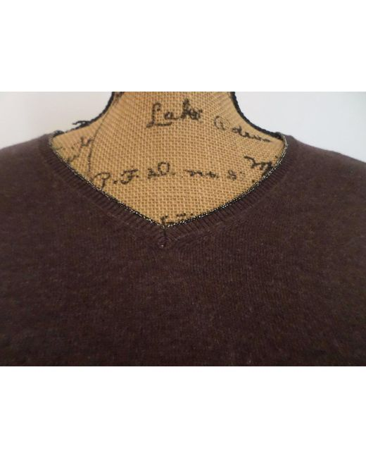 Pull coton marron Gerard Darel en coloris Brown