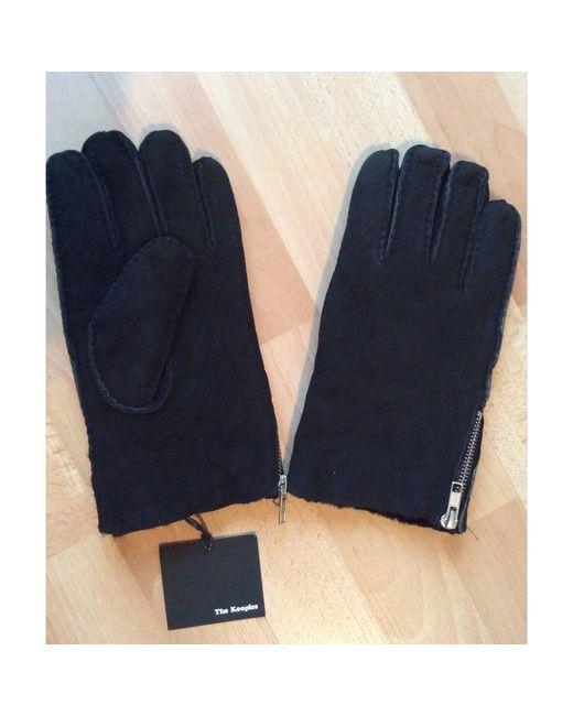 Gants cuir noir The Kooples pour homme en coloris Black