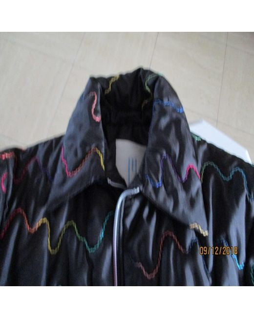 Parka synthétique noir Missoni en coloris Black