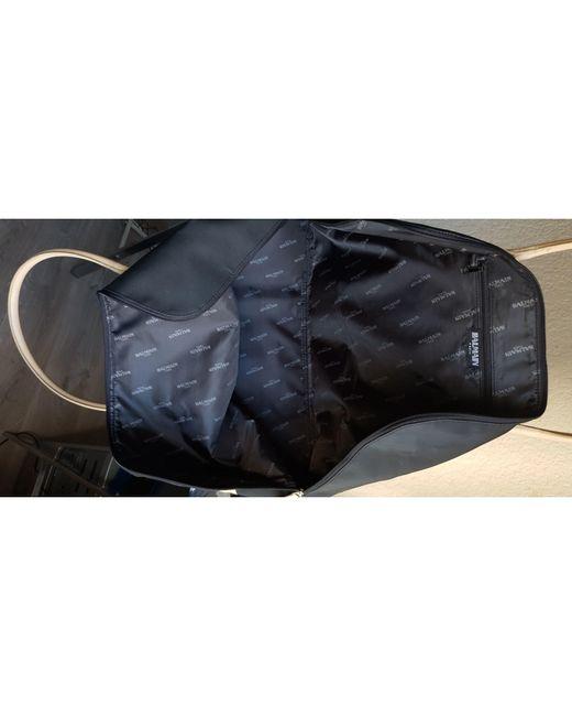 Sac XL en tissu toile noir Balmain en coloris Black