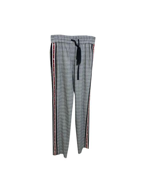 Pantalon droit polyester noir The Kooples en coloris Black