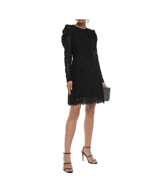 Robe courte polyester noir Michael Kors en coloris Black