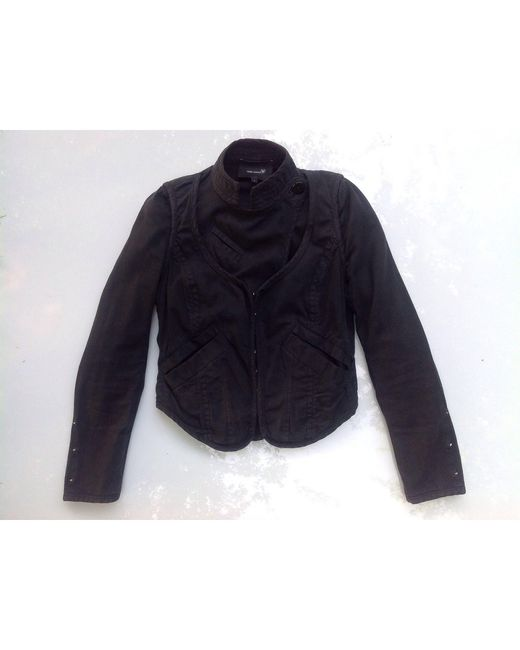 Veste coton noir Isabel Marant en coloris Black