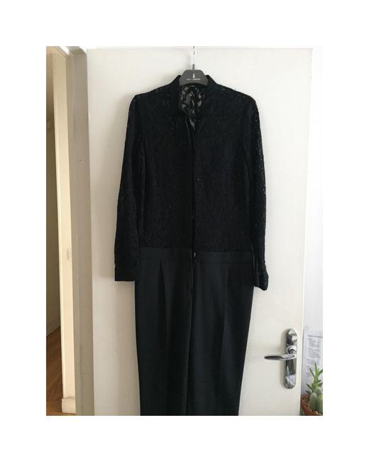 Combinaison coton noir Maje en coloris Black