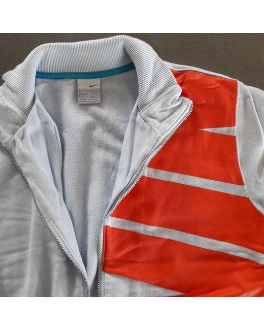 Gilet, cardigan coton bleu Nike pour homme en coloris Blue