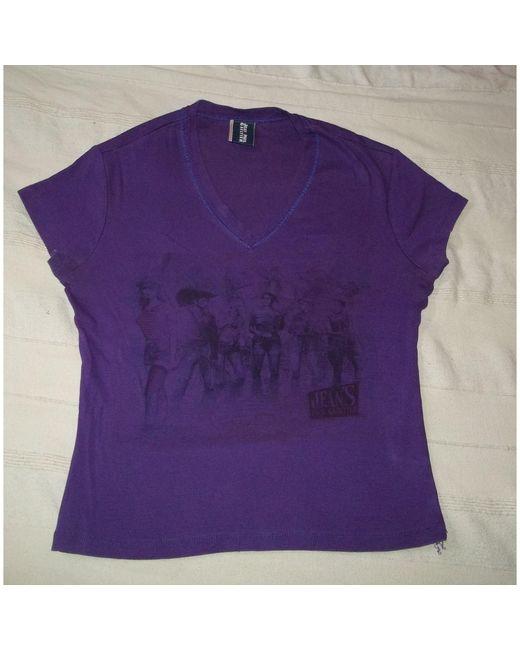 Top, tee-shirt coton violet Jean Paul Gaultier en coloris Purple
