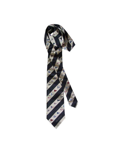 Cravate soie bleu Louis Vuitton pour homme en coloris Blue