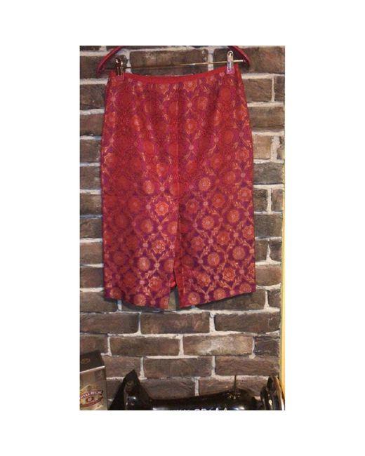 Jupe mi-longue rayon rouge Marc Jacobs en coloris Red