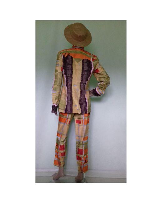 Christian Lacroix Tailleur pantalon polyester multicolore femme 431oh