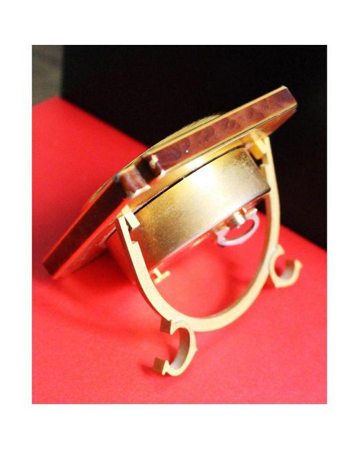 Montre à gousset laiton doré Cartier pour homme en coloris Metallic