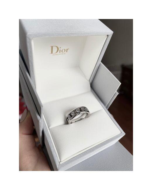 Bague 18ct argent Dior en coloris Metallic