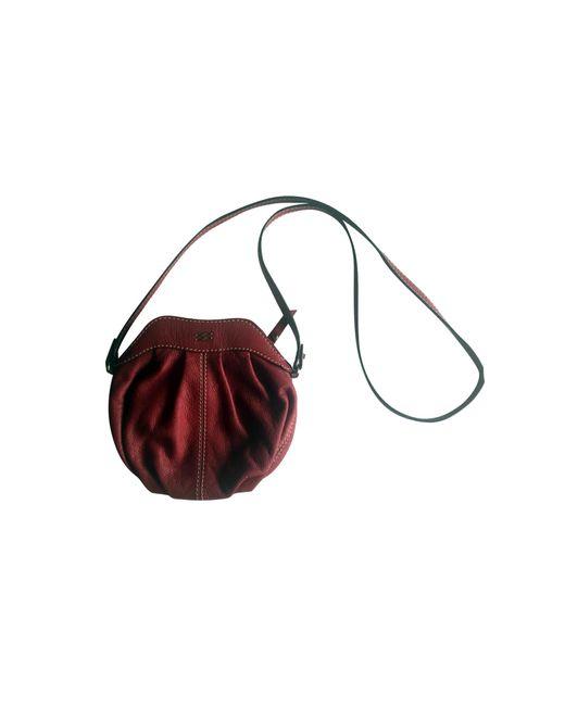 Sac en bandoulière en cuir cuir rouge Lancel en coloris Red