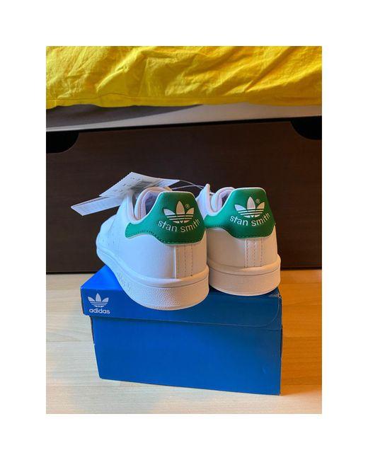 Baskets voir etiquette blanc Adidas en coloris White