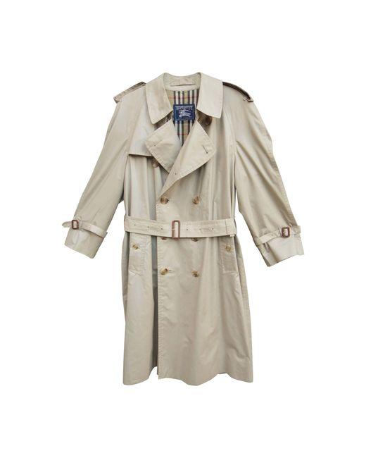 Imperméable, trench polyester beige Burberry pour homme en coloris Natural