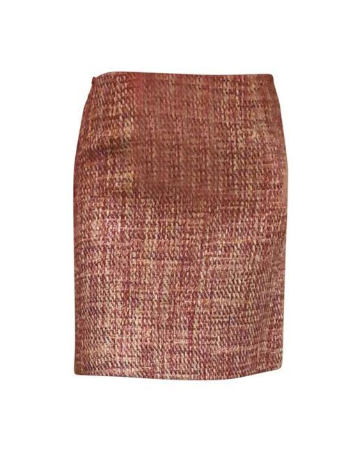 Jupe courte coton rose Sonia by Sonia Rykiel en coloris Pink
