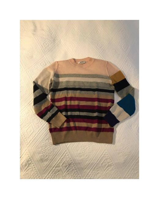 Pull laine gris Sonia by Sonia Rykiel en coloris Gray