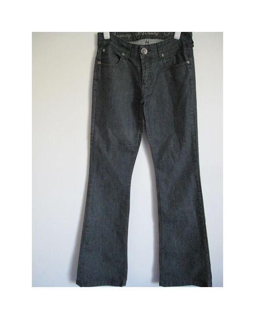 Jeans très evasé, patte d'éléphant coton bleu Faith Connexion en coloris Blue