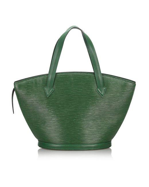 Sac à main en cuir epi leather autre Louis Vuitton en coloris Green