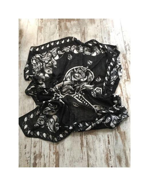 Foulard coton noir The Kooples pour homme en coloris Black