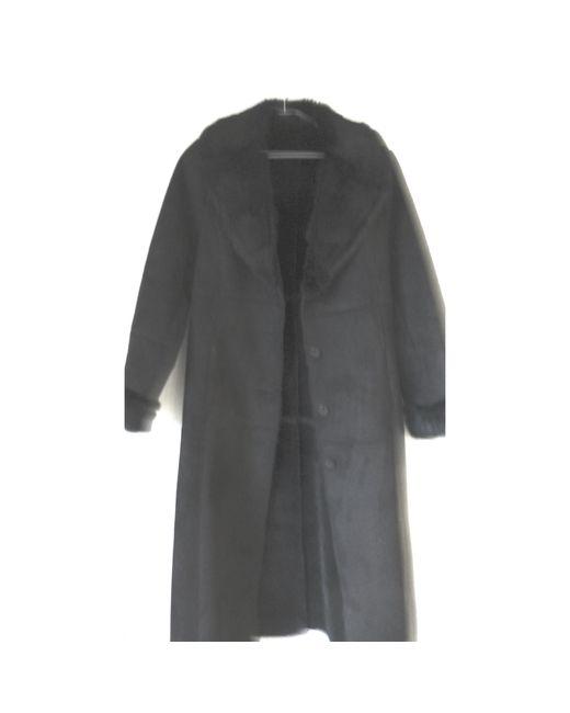 Manteau polyester noir Gerard Darel en coloris Black